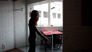 Подвесная стеклянная перегородка Terno(, 2017-01-12T22:40:38.000Z)