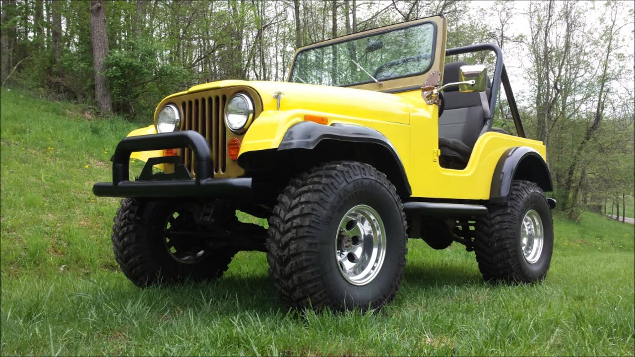 Beautiful Jeep CJ5 w 350 CI crate motor 4 sale