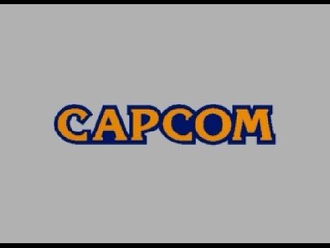 カプコンロゴ(CAPCOM BOOT LOGO)
