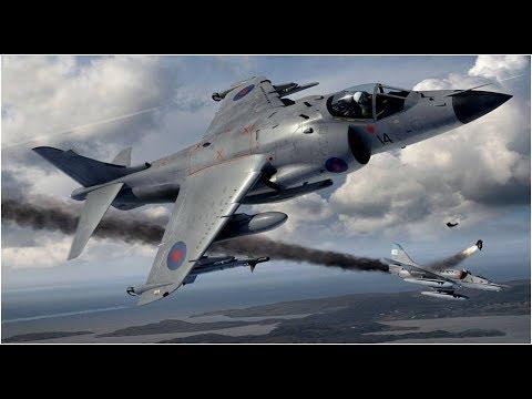 Sea Harrier Falklands War - #3 Commander Nigel David 'Sharkey' Ward.
