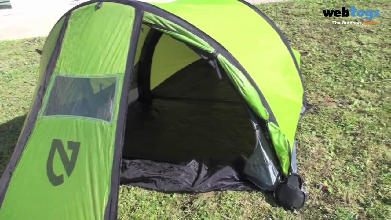 Nemo Morpho AR Tent - Now called the Nemo Morpho 2P innovative 2kg 2 man tent - YouTube & Nemo Morpho AR Tent - Now called the Nemo Morpho 2P innovative ...