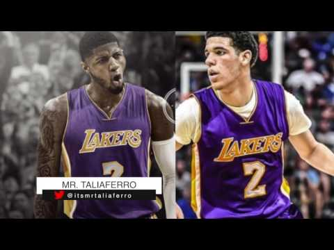 LA Lakers Considering Trading Lonzo Ball For Paul George, Pacers Won