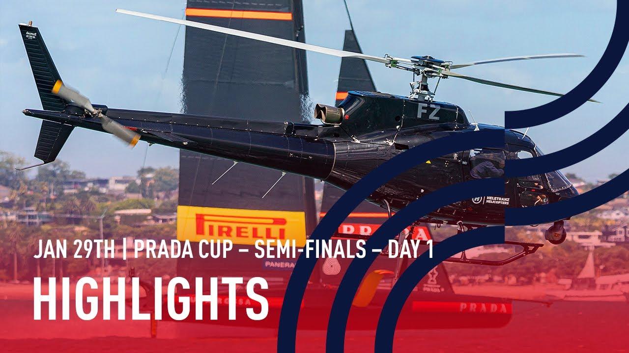 PRADA Cup Semi-Final Day 1 Highlights