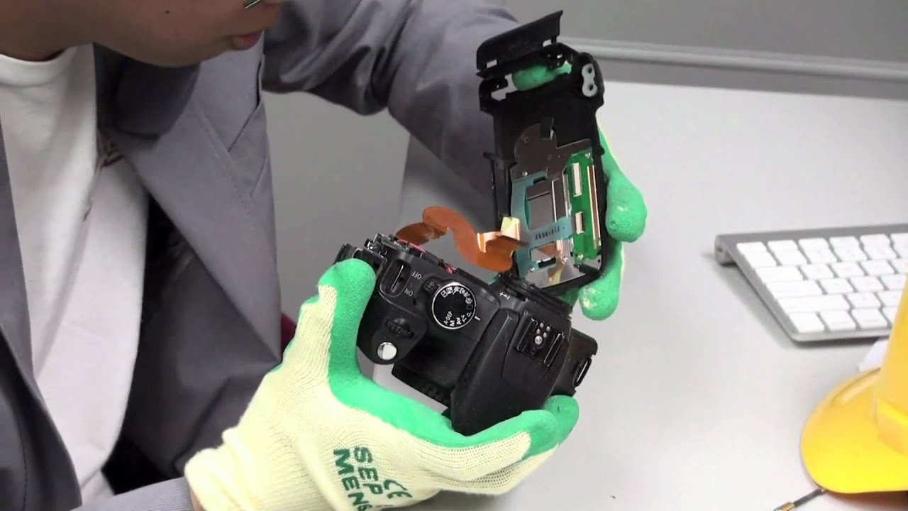 Guide on how to do a Canon 350D Teardown