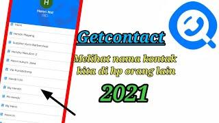 Cara Menggunakan Aplikasi GetContact 2021 screenshot 1