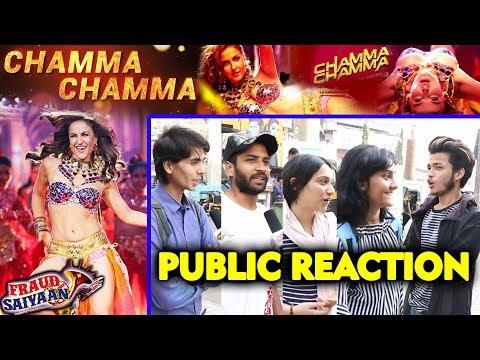 Chamma Chamma Song | PUBLIC REACTION | Fraud Saiyaan | Elli Avram, Arshad Warsi