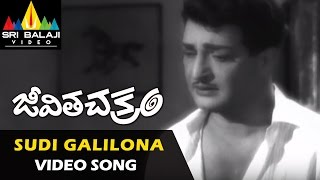 Jeevitha Chakram Video Songs | Sudi Galilona Video Song | NTR, Vanisri, Sharada  | Sri Balaji Video