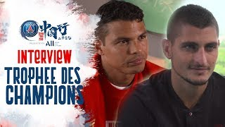 INTERVIEW with Mbappé, Silva, Verratti & Herrera
