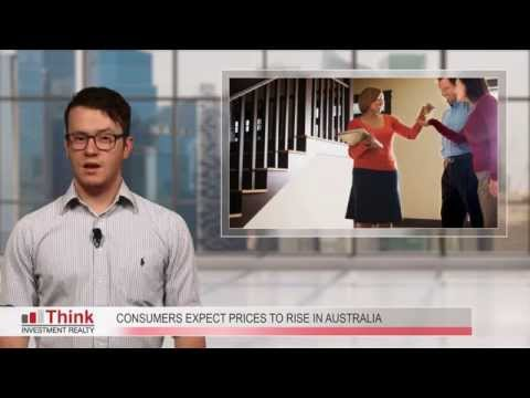 Consumers Expect Prices to rise in Australia