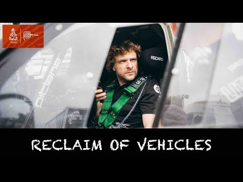 Reclaim of vehicles   Benediktas Vanagas   Dakar 2019
