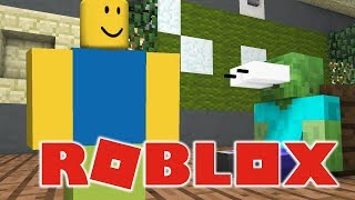 ROBLOX VS MINECRAFT - Monster School Realistic Minecraft Animation