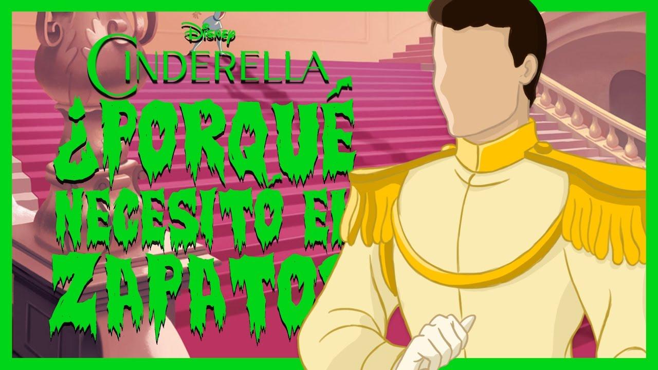Príncipe Disney El Porqué Locuras Cenicienta Zapato Necesitó 5 De FBqwnIT