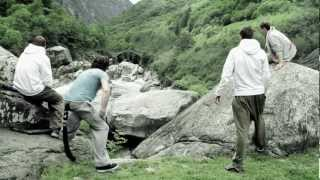 Ryan Doyle - Verzasca Run, Switzerland - Bring Parkour back to Nature