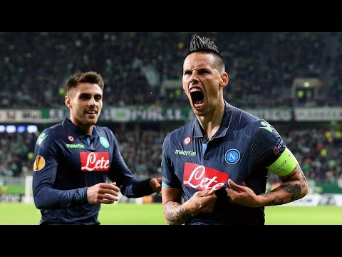 Wolfsburg vs Napoli 1-4 2015 All Goals & Highlights Uefa Euro League 16/04/2015