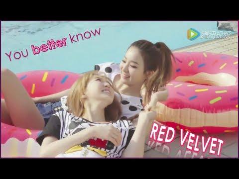 RED VELVET YOU BETTER KNOW MV
