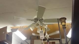 """Hunter 52"""" Original Ceiling Fan model white with Hunter light kit"""