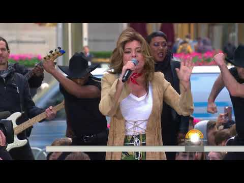 Shania Twain  I'm Gonna Getcha Good!  at Today Show