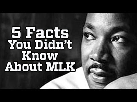 5 Things You Didn T Know About Martin Luther King Jr Youtube