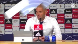 Zidane atendió a la prensa tras nuestra victoria ante el Celta