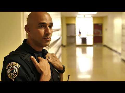 #CreekFamilyPDNews:  Meet Your SRO, Officer Almanzar at Coconut Creek High School