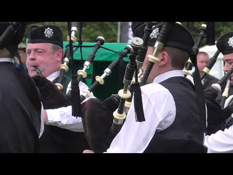 Pipes & Drums of the PSNI World Pipe Band Championships 2017 (Qualifier Medley)
