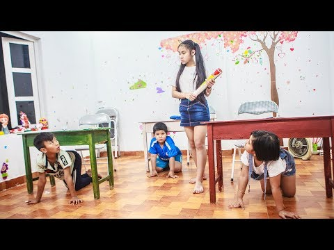 Kids go to School Learn | The Creativity Of Chuns In The Class 2