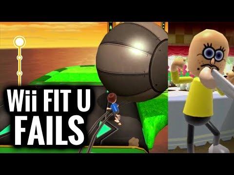 Wii Fit U FAILS