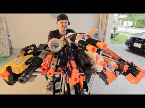 Thumbnail: NERF BATTLE RACER vs BOOMCO BLASTER BUGGY 2! Nerf War!