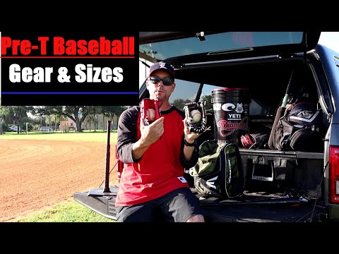 Pre T Baseball Equipment What You Need To Get For Your First Tball GAME And PRACTICE- Boys And Girls