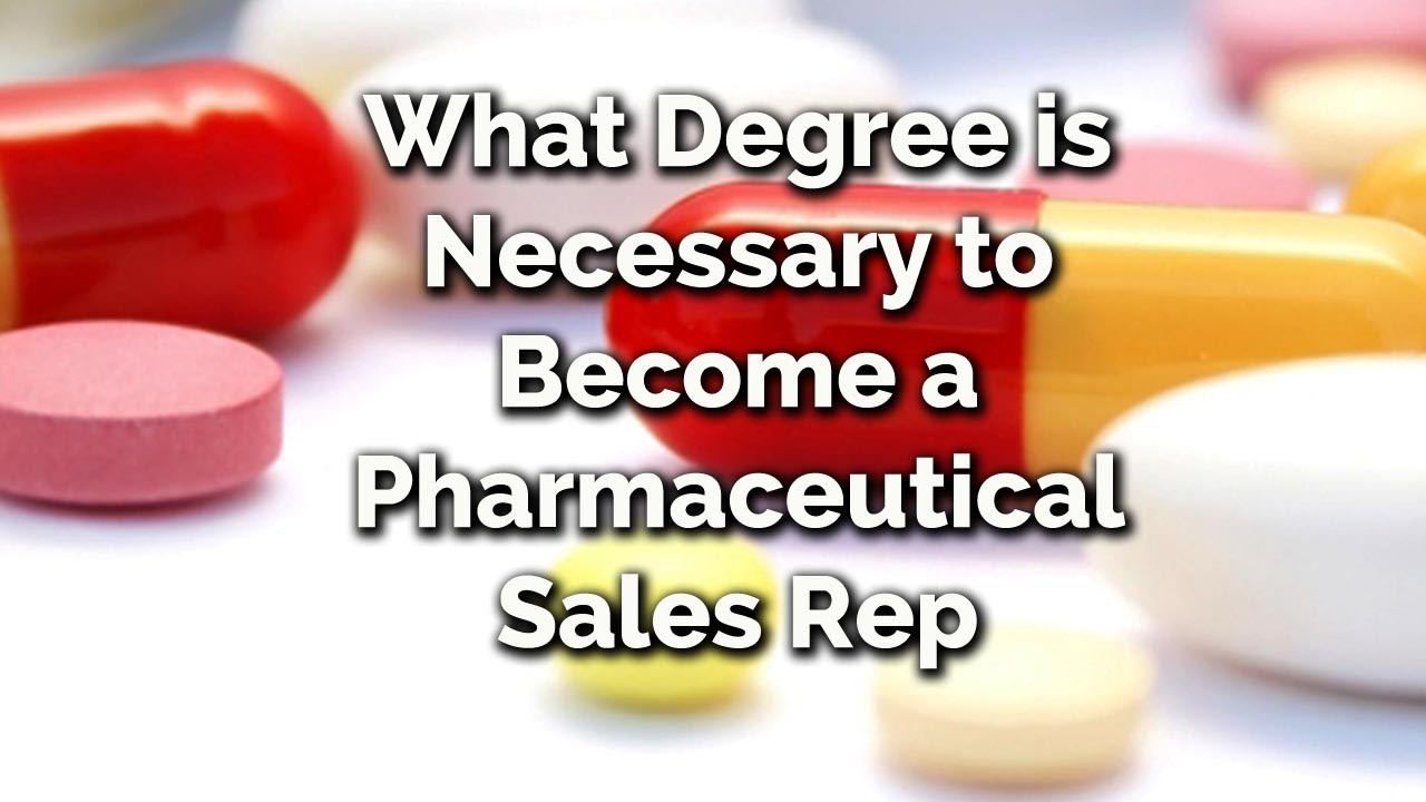 what is a pharmaceutical sales representative