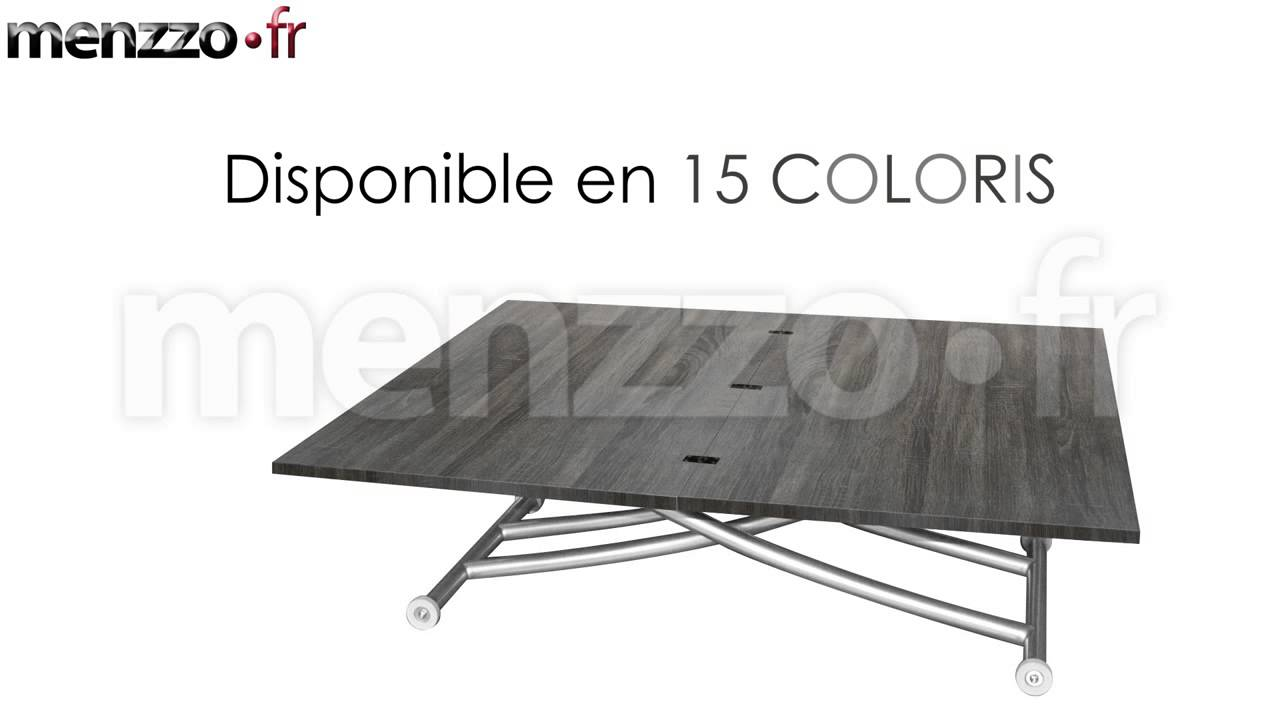 table basse relevable carrera youtube. Black Bedroom Furniture Sets. Home Design Ideas