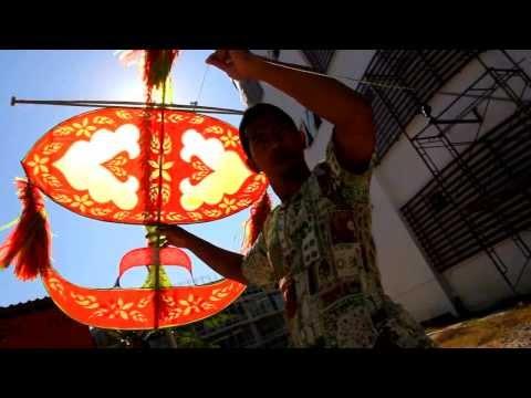 Wau Bulan test Fly @Wau Bulan Pattani Patani