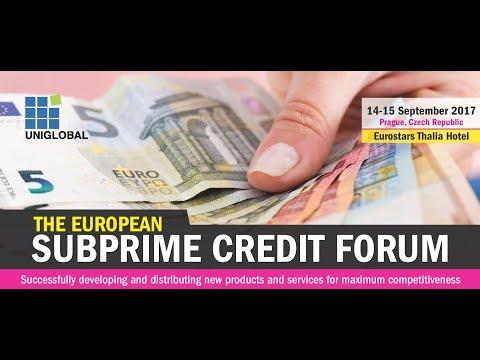The European Subprime Credit Forum 2017