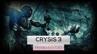 Crysis 3 on Inel Core 2 Quad Q8400 & Nvidia GT730