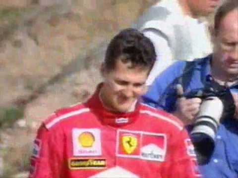 F1 1997 European GP: Schumacher hits Villeneuve (MTV3)