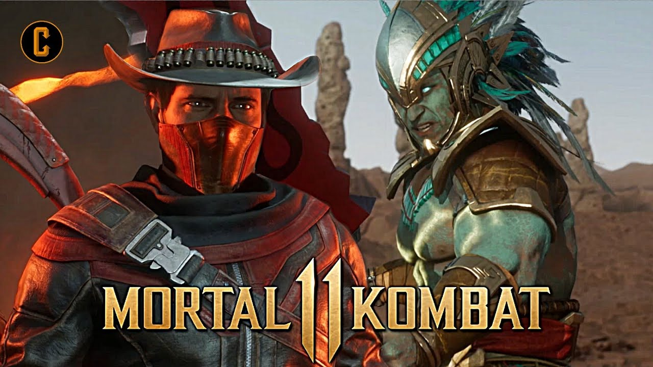 Mortal Kombat 11 - Story Mode Trailer Reveals Erron Black, Kotal Kahn and  More!