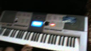 Happy Birth Day song on Key board with Chords and notation By Abhishek Dinavahi.MPG