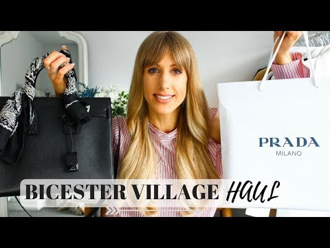 BICESTER VILLAGE DISCOUNT DESIGNER HAUL | Saint Laurent (YSL
