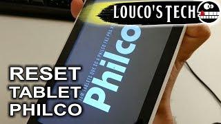 Hard Reset (Formatação) Tablet Philco - FÁCIL E RÁPIDO | Louco's Tech