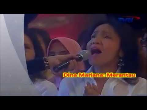 Dina Mariana  --  MERANTAU  --  Lagu Kenangan 1980an   ---  1,065