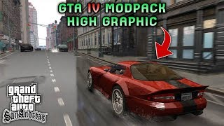 MANTAP COY!! GTA SA LITE MODPACK GTA IV HIGH GRAPHIC | Full Cheat & Mod | Support All Os Android