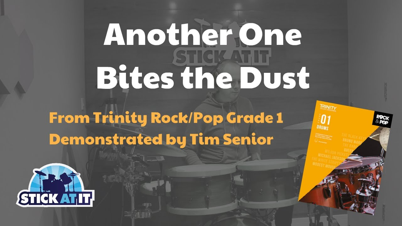 Another One Bites The Dust - Trinity Rock/Pop Grade 1 Drums