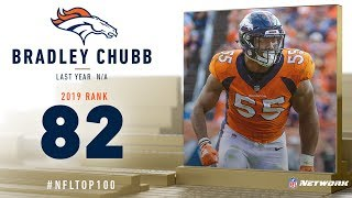 #82: Bradley Chubb (OLB, Broncos) | Top 100 Players of 2019 | NFL