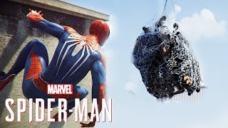 SPIDER-MAN PS4 - MORE Free Roam Gameplay REVEALS BIGGEST WEB QUESTION!