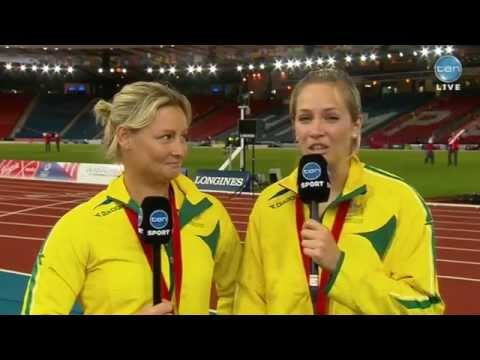 Kim Mickle Wins Gold at Glasgow Comm Games