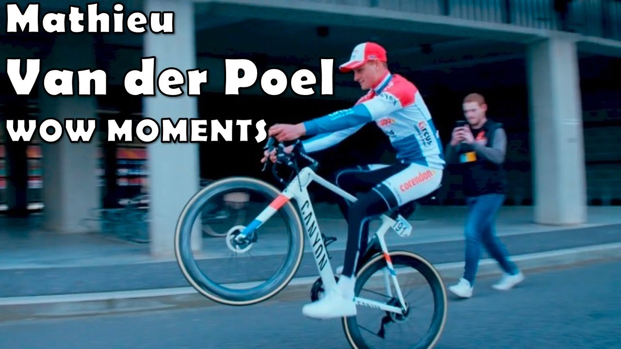 Mathieu Van der Poel - Top 10 Cycling Wow Moments - YouTube