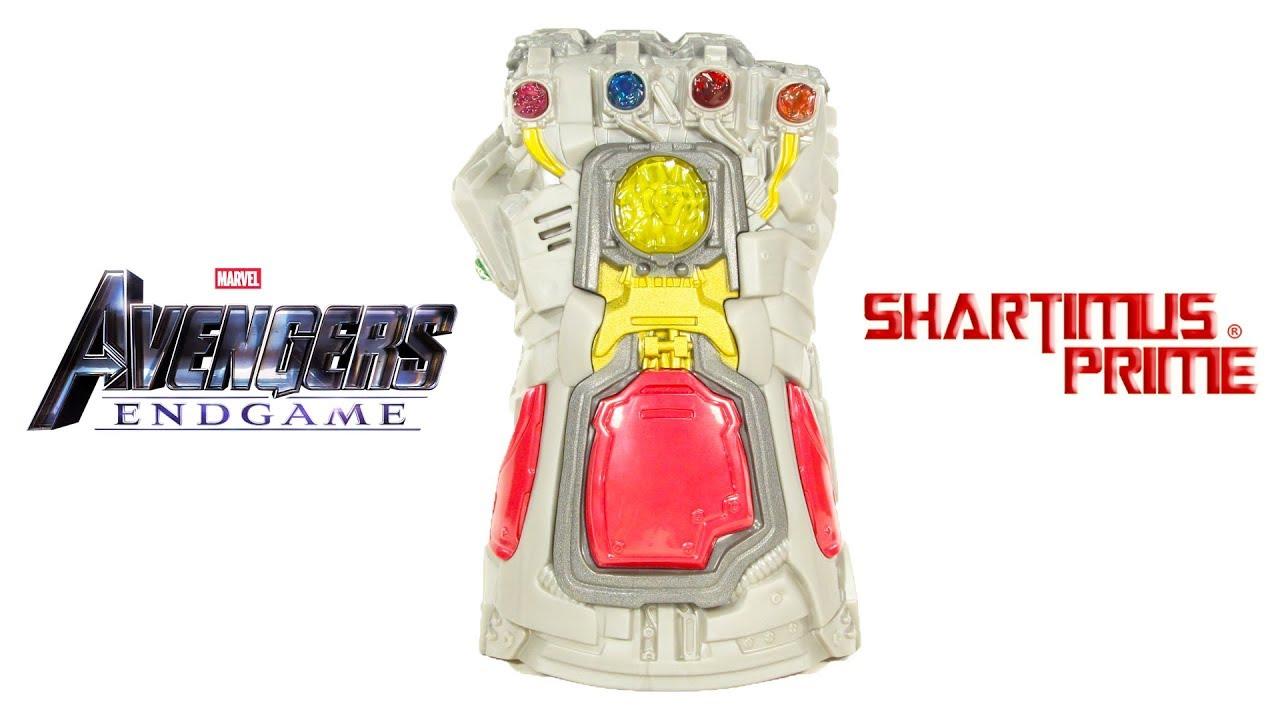 Avengers Endgame Nano Gauntlet Iron Man Power Glove Hasbro Marvel Toy Review
