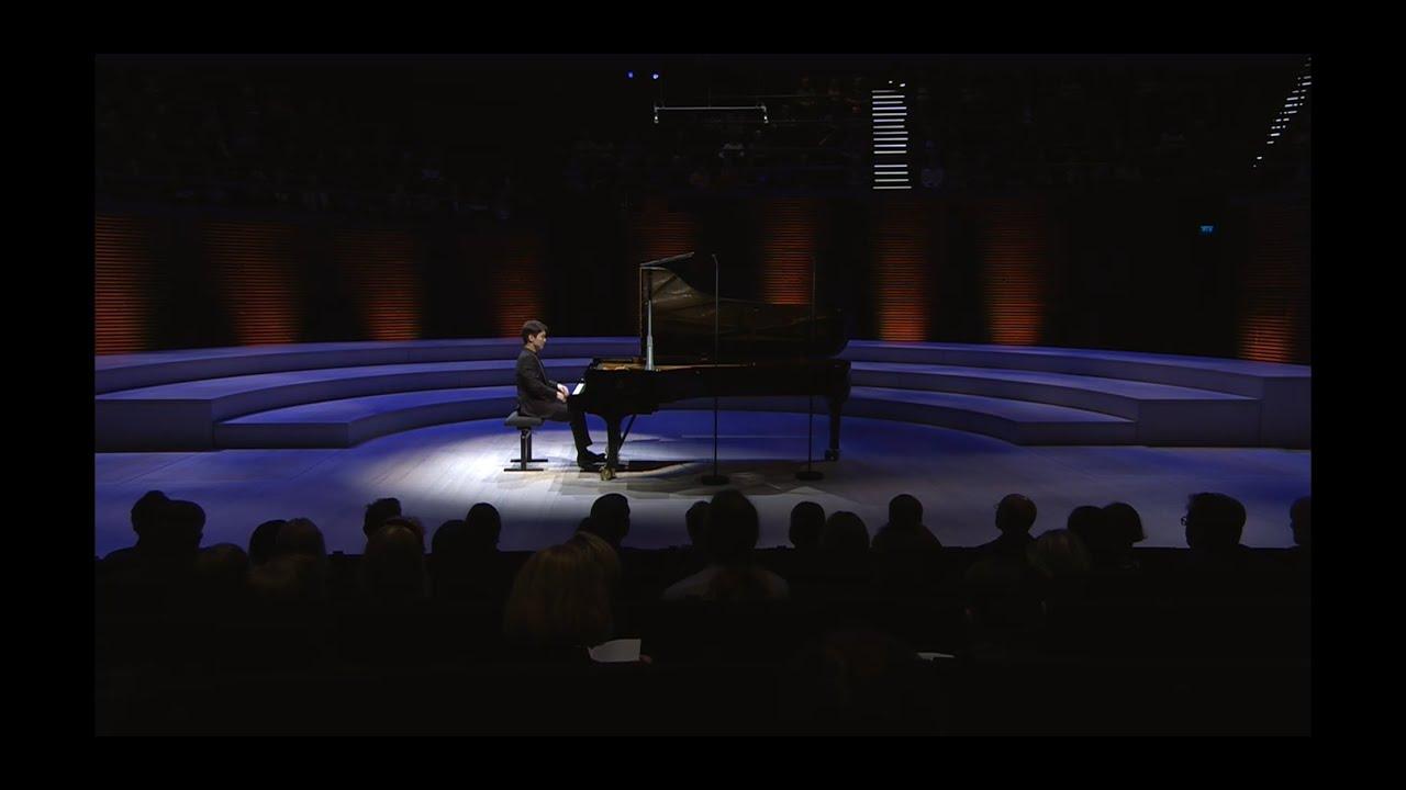 Seong-Jin Cho : Mozart, Schubert, Berg and Liszt (20191011 RSO Festival, Helsinki Recital)