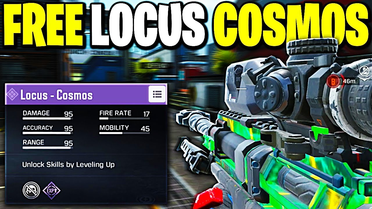 *NEW* How to Get FREE LOCUS COSMOS in Call of Duty Mobile!