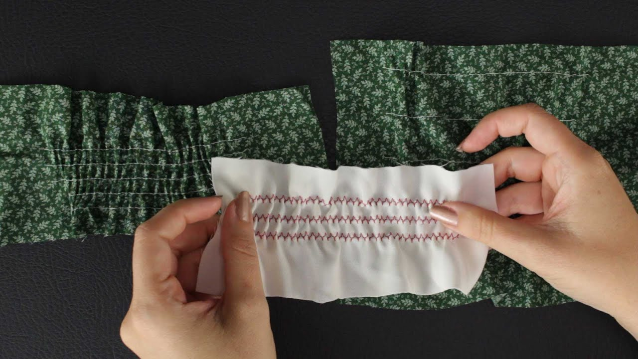 Thread-elastic: how to sew it right